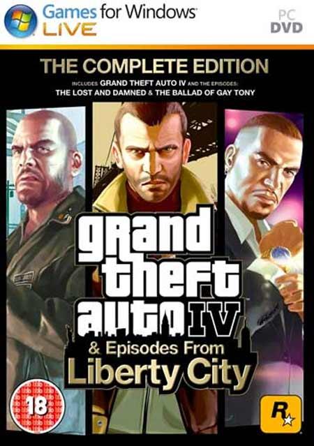 خرید بازی GTA IV Complete Edition جی تی ای 4 برای PC