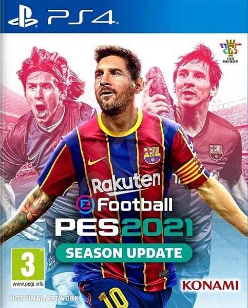 خرید بازی PES 2021 پی اس 21 برای PS4