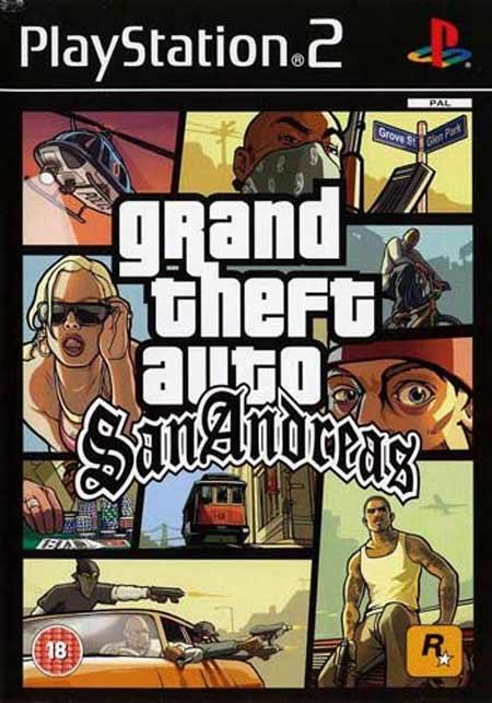 خرید بازی Grand Theft Auto San Andreas برای PS2