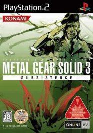 خرید بازی Metal Gear Solid 3 متال گیر سالید برای PS2