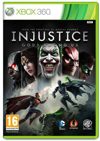 خرید بازی Injustice Gods Among Us برای XBOX 360