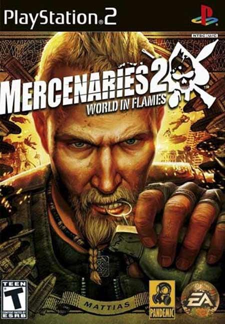 خرید بازی Mercenaries 2 World in Flames برای PS2