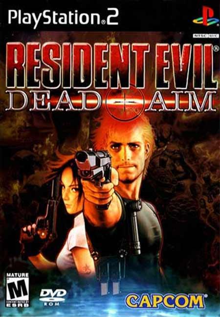 خرید بازی Resident Evil Dead Aim رزیدنت اویل برای PS2