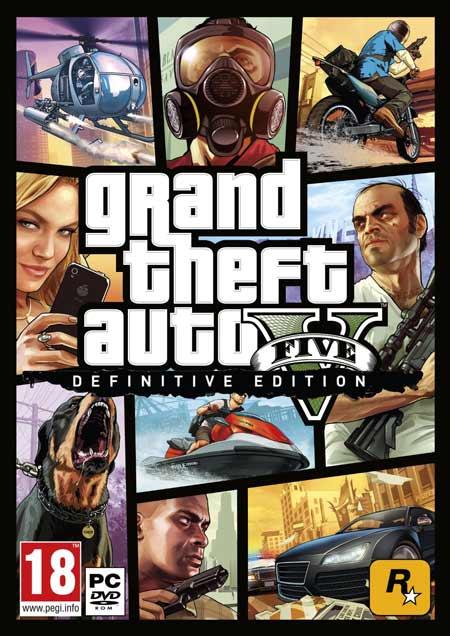 خرید بازی جی تی ای 5 GTA V برای کامپیوتر