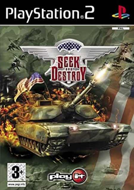 خرید بازی جستجو و تخریب SEEK AND DESTROY برای PS2