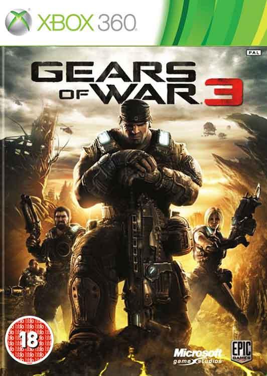خرید بازی Gears of War 3 برای XBOX 360