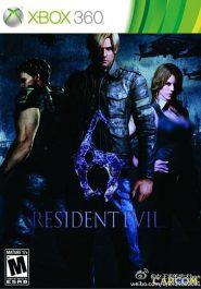 خرید بازی Resident Evil 6 رزیدنت اویل 6 برای XBOX 360