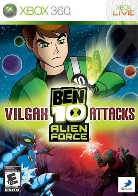 خرید بازی Ben 10 Alien Force Vilgax Attacks برای XBOX 360