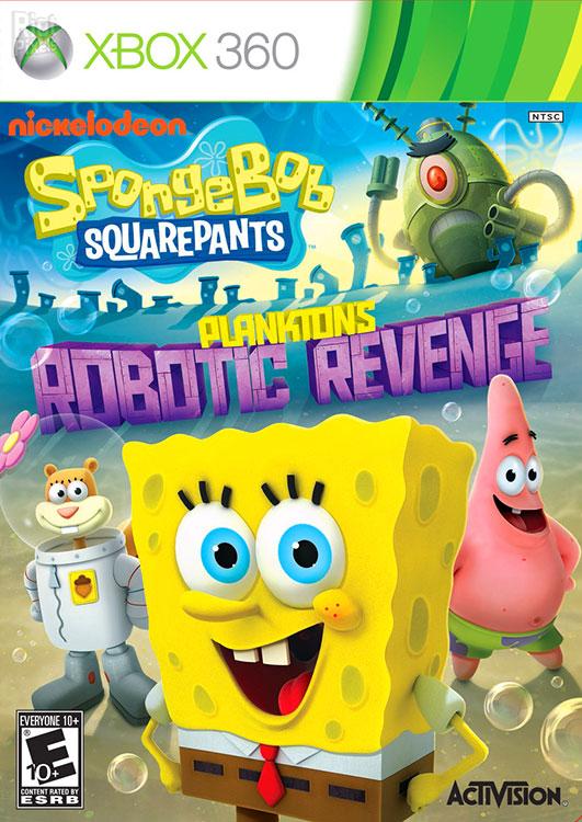 خرید بازی SpongeBob SquarePants Planktons Robotic Revenge برای XBOX 360