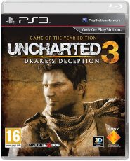 خرید بازی Uncharted 3 Drake's Deception برای PS3