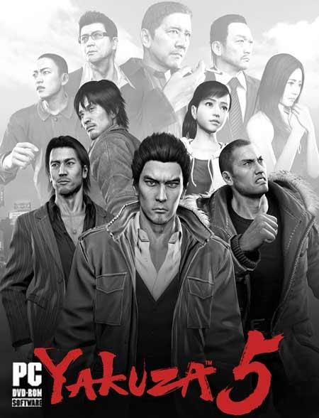 خرید بازی یاکوزا Yakuza 5 برای کامپیوتر