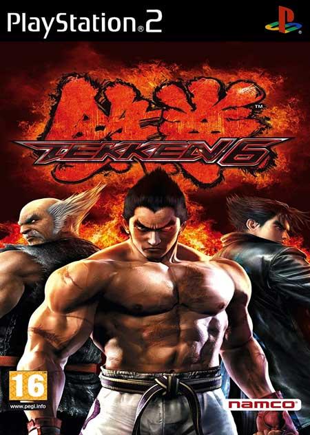 خرید بازی Tekken 6 برای پلی استیشن 2